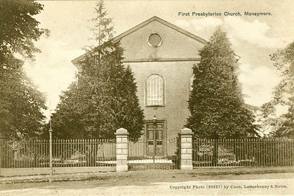 1823 –  First Presbyterian Church, Moneymore, Co. Derry