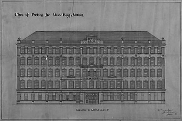 1897 – Hogg and Mitchell Shirt Factory, Derry, Co. Derry