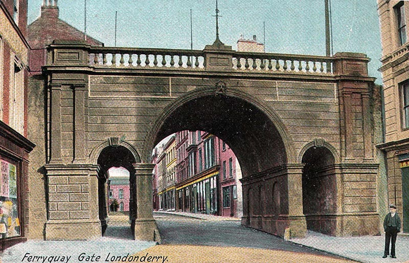 1866 – Ferryquay Gate, Derry, Co. Derry