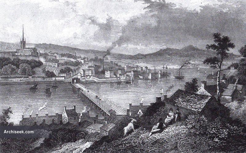 "1862 Dublin Builder Description of the ""Architecture of Londonderry"""