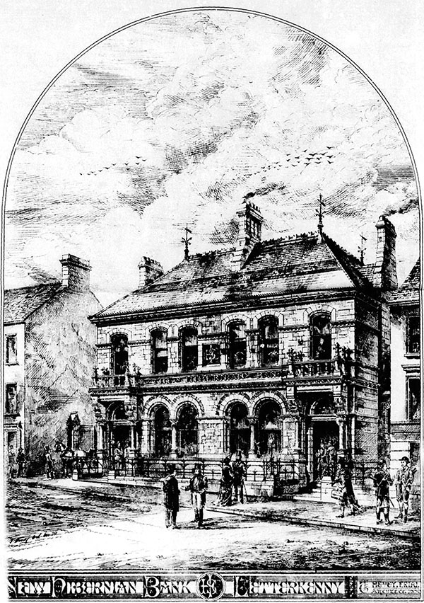1875 – Bank of Ireland, Letterkenny, Co. Donegal