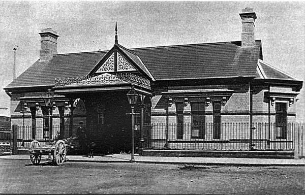 1891 – Railway Station, Bundoran, Co. Donegal