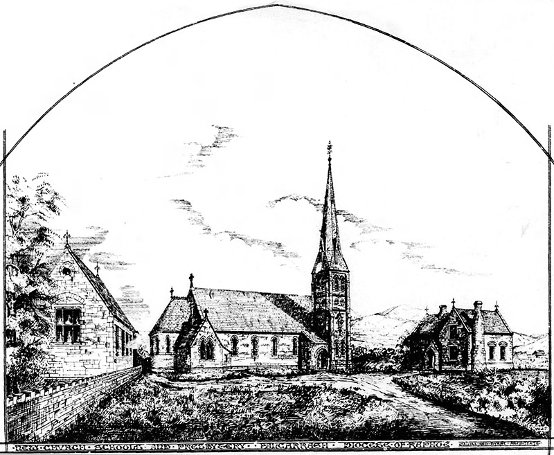1877 – St. Finian's Church & School, Falcarragh, Co. Donegal