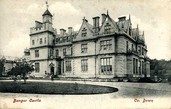 1852 &#8211; Bangor Castle, Co. Down