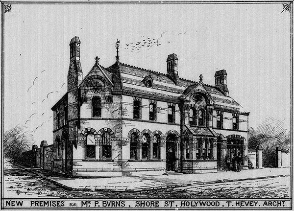 1869 – Burns Hotel, Shore Rd., Holywood, Co. Down