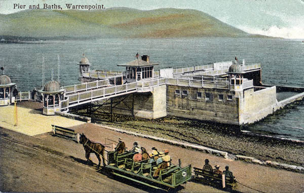1906 – Pier & Public Baths, Warrenpoint, Co. Down