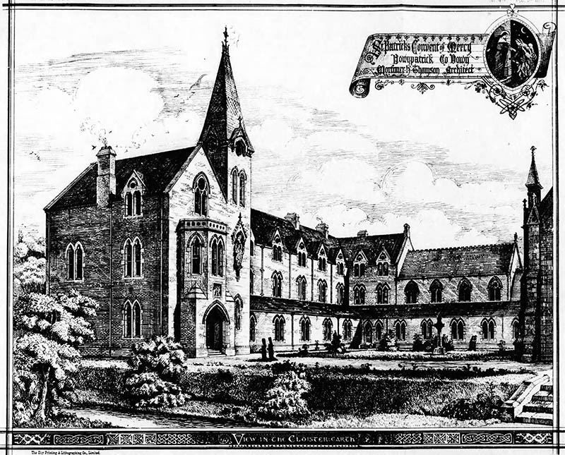 1876 – St. Patrick's Convent of Mercy, Downpatrick, Co. Down