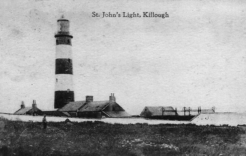 1893 – St. John's Point Lighthouse, Killough, Co. Down