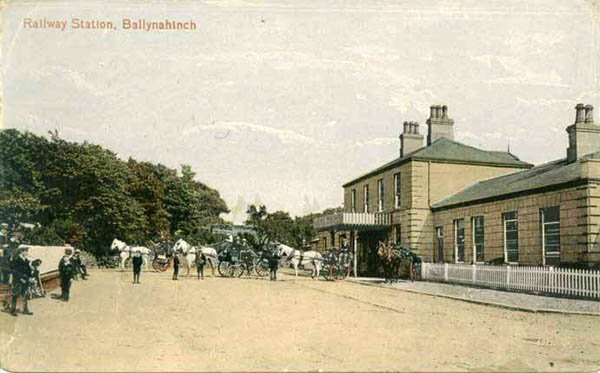 1858 – Railway Station, Ballynahinch, Co. Down