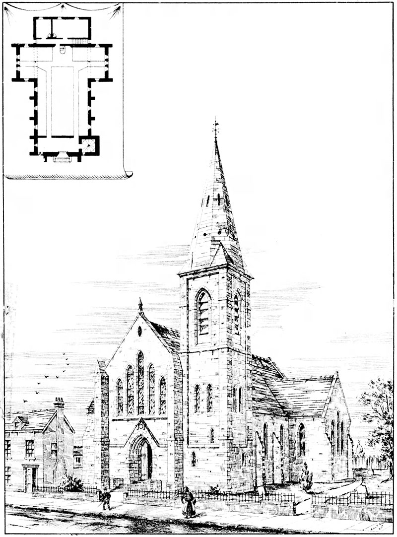 1889 – Second Presbyterian Church, Ballywalter, Co. Down