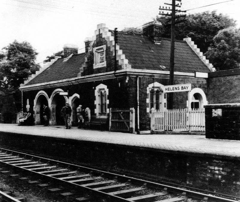 1865 – Railway Station, Helen's Bay, Co. Down