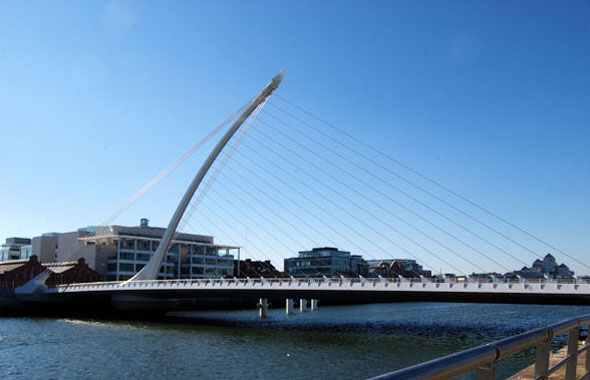 2009 – Samuel Beckett Bridge, Dublin