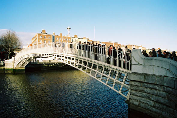 1816 – Ha'penny Bridge, Dublin