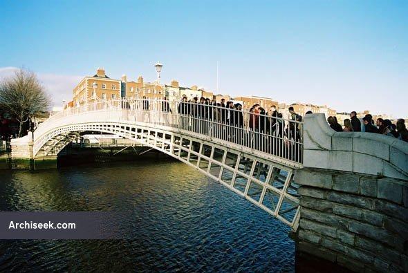 1816 – Ha'penny Bridge, Dublin