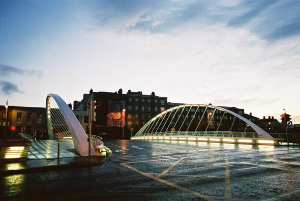 2003 – James Joyce Bridge, Dublin