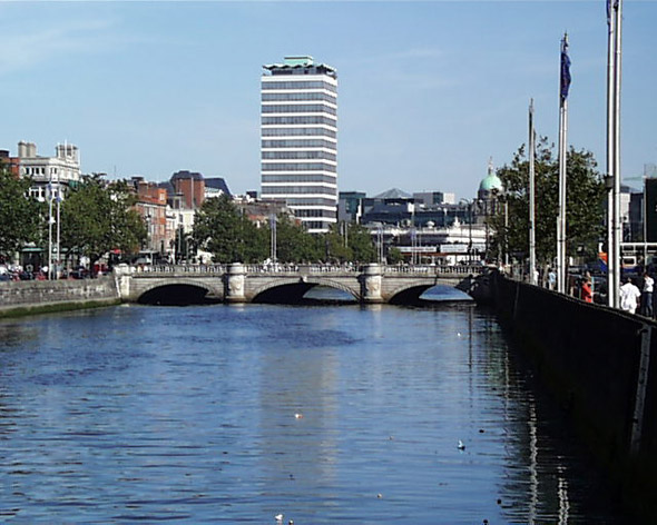 1880 &#8211; O&#8217;Connell Bridge, Dublin