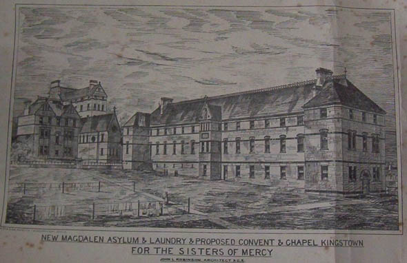 1878 – New Magdalen Asylum & Laundry & Proposed Convent, Dun Laoghaire, Co. Dublin