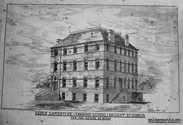 1879 &#8211; Sedes Sapientiae (Training School) Baggot St., Dublin