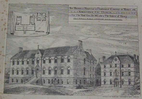 1875 &#8211; St. Michael&#8217;s Hospital &#038; Proposed Convent of Mercy, Dun Laoghaire, Co. Dublin