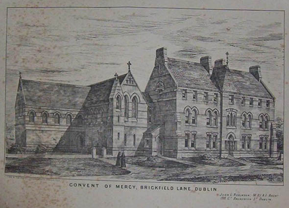 1875 &#8211; Convent of Mercy, Brickfield Lane, Dublin