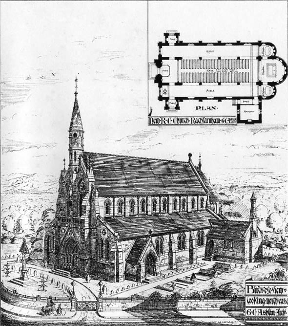 1878 &#8211; Church of the Annunciation, Rathfarnham, Co. Dublin