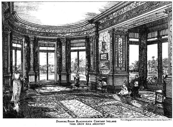 1881 – Drawing Room, Blackheath, Contarf