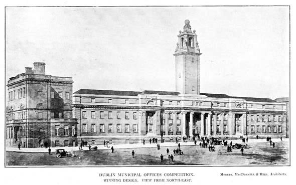1913 &#8211; Dublin Municipal Offices Competition