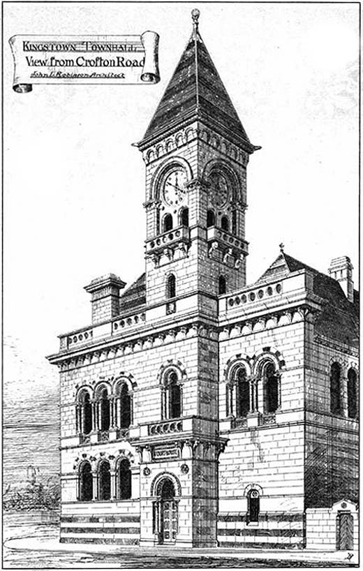 1879 &#8211; Dun Laoghaire Town Hall, Co. Dublin