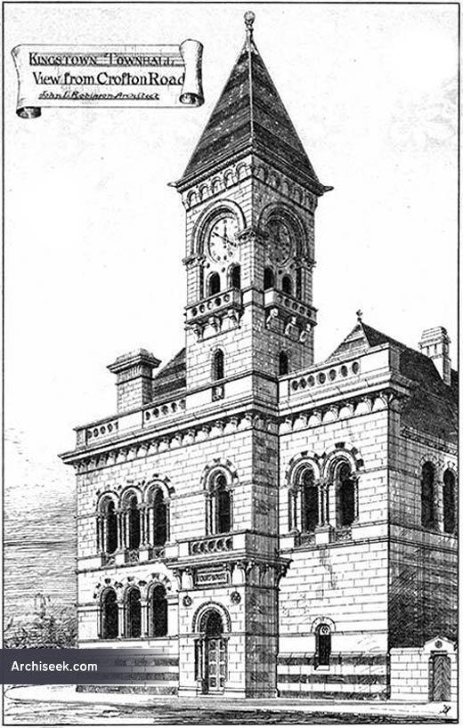 1879 – Dun Laoghaire Town Hall, Co. Dublin