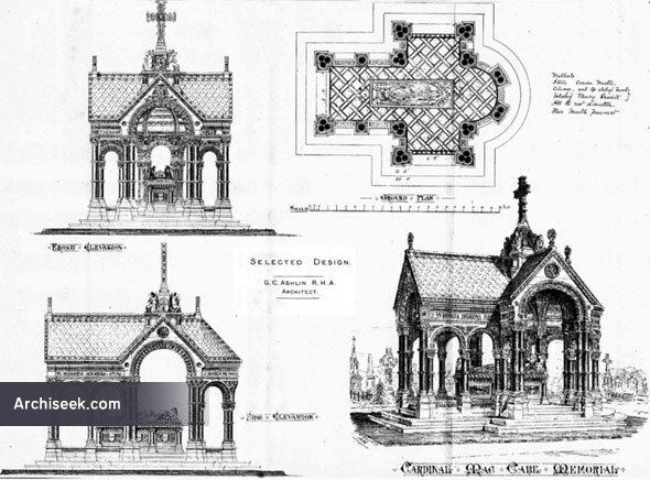 1888 – Cardinal MacCabe Memorial, Glasnevin, Dublin