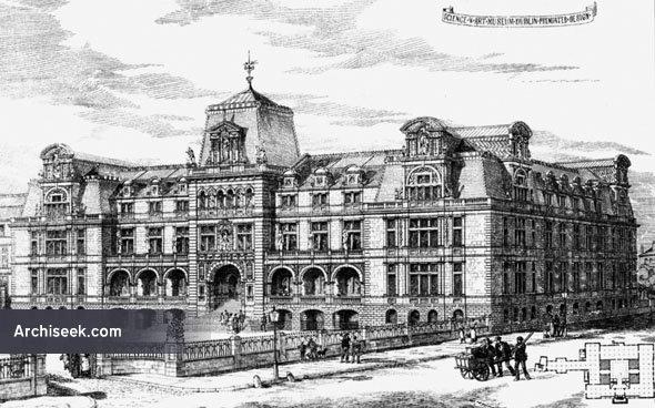 1883 – Science & Art Museum, Kildare Street, Dublin
