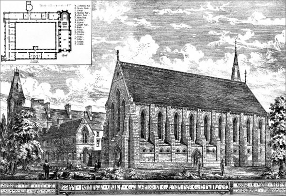 1886 – St. Mary's Dominican Church & Convent, Tallaght, Co. Dublin