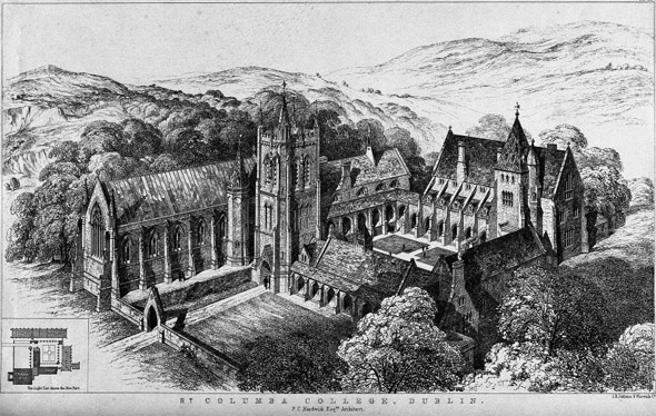 1852 &#8211; St. Columba&#8217;s College, Rathfarnham, Co. Dublin