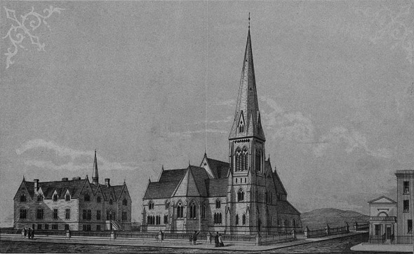 1860 &#8211; Molyneux Church and Asylum for Blind Females, Leeson Park, Dublin