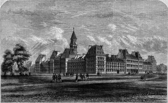 1864 &#8211; Proposed University of Ireland, Clonliffe, Dublin