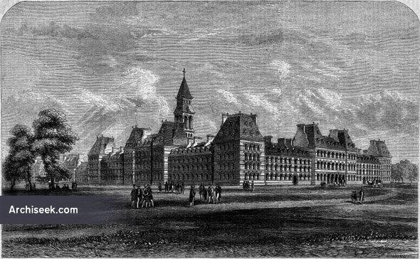 1864 – Proposed University of Ireland, Clonliffe, Dublin