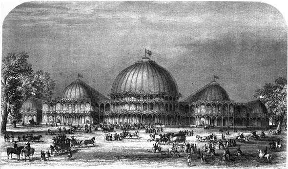 1853 – Great Industrial Exhibition, Dublin