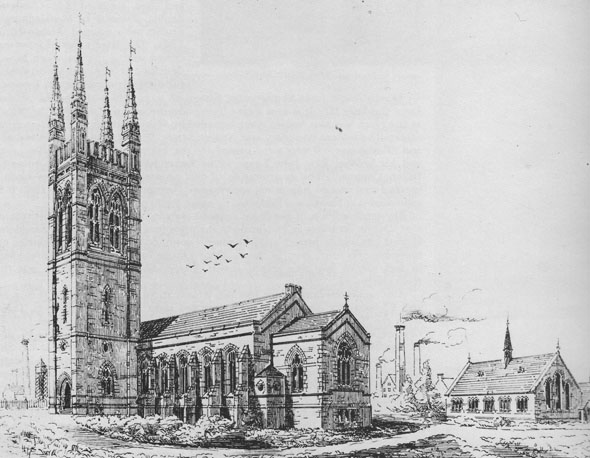 1869 – St. Barnabas' Church, Upper Sheriff St., Dublin