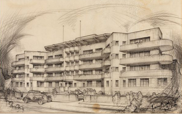1936 &#8211; Design for St. Ultan&#8217;s Hospital, Dublin