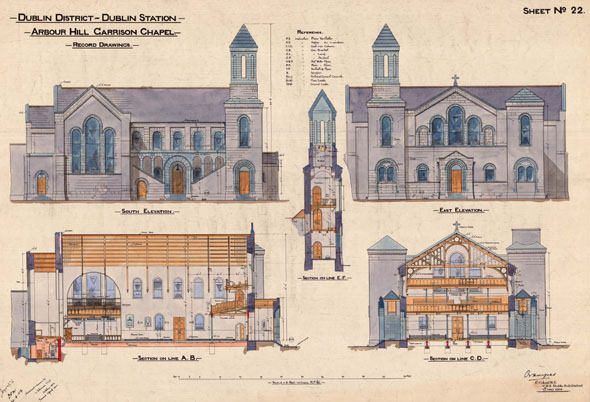 1848 &#8211; Arbour Hill Garrison Chapel, Dublin