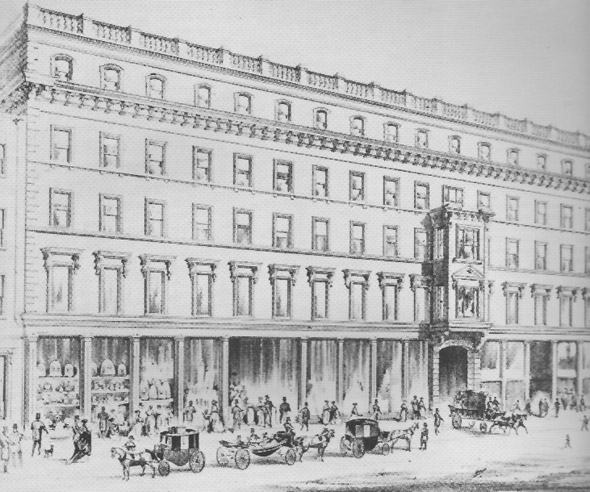 1856 &#8211; Pim&#8217;s Department Store, Sth Great George&#8217;s Street, Dublin