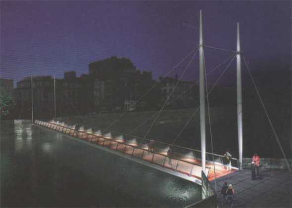 1998  Liffey Bridge Competition, Dublin