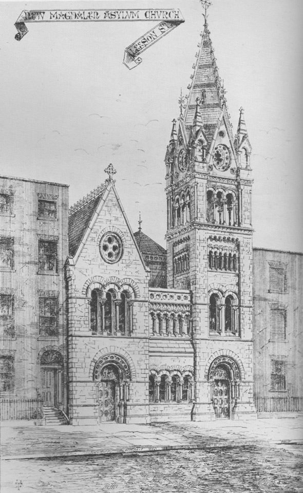 1868 &#8211; Magdalen Asylum Chapel, Leeson St., Dublin
