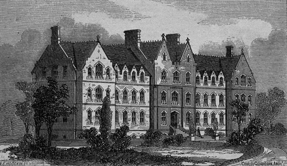 1868 &#8211; Institution for the Deaf and Dumb, Cabra, Dublin