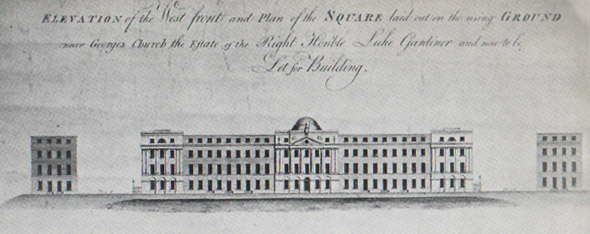 1795c – Design for Mountjoy Square, Dublin
