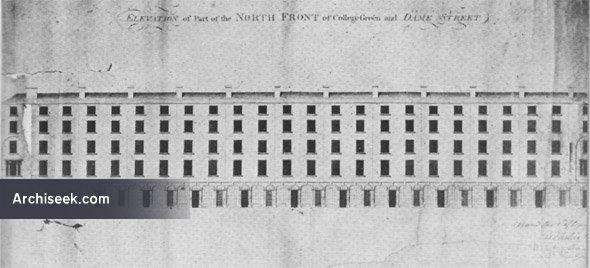 1791 – Design for Dame Street, Dublin