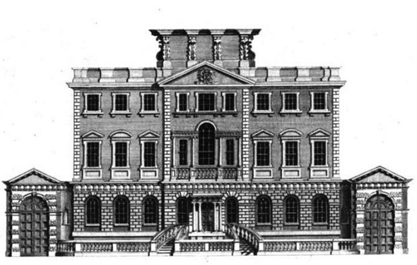 1774 &#8211; Powerscourt House, South William Street, Dublin