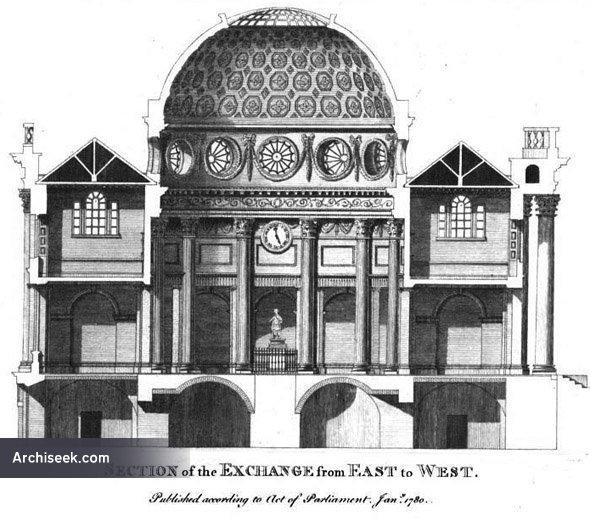 1779 City Hall Dame Street Dublin Archiseek Irish