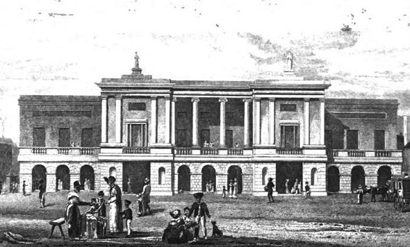 1821 – Theatre Royal, Hawkins St., Dublin