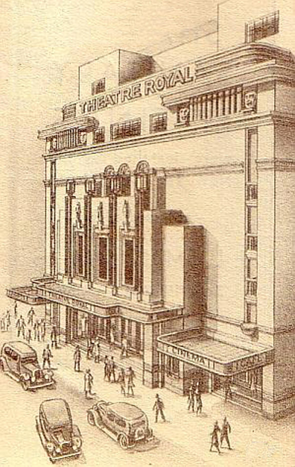 1935 &#8211; Theatre Royal, Hawkins St., Dublin